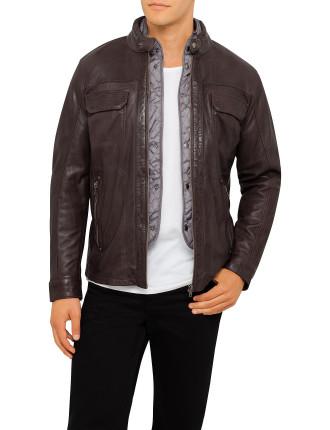 Ray Leather Jacket