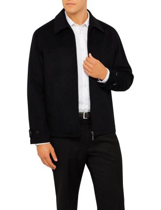 Short Zip Taxi Jacket