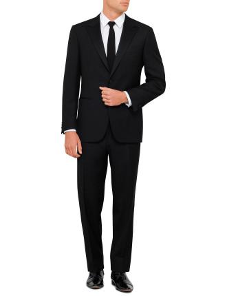 Wool Peak Tuxedo Suit