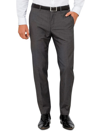 Herris Wool/Cotton Plain Trouser