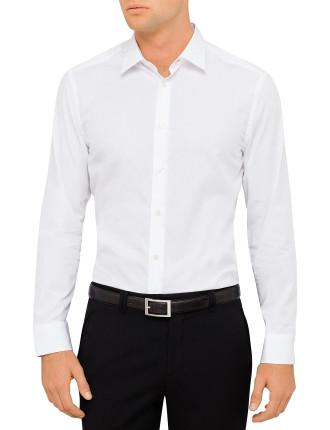 659A Cotton Poplin Plain Shirt