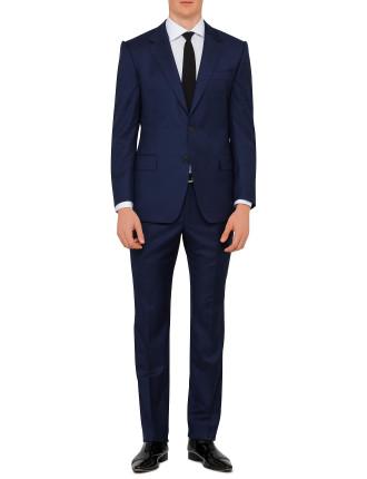Wool Solid Plain Suit