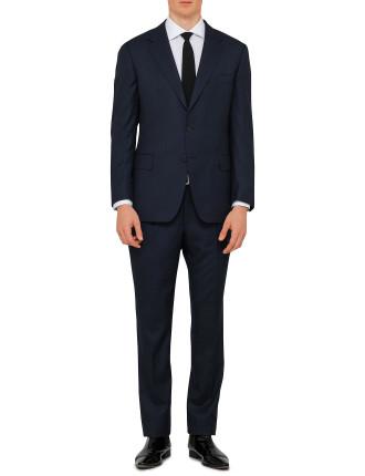 Wool Textured Birdseye Suit