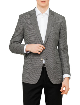Wool Neat Lined Jacket