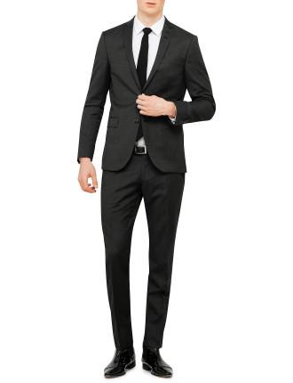 Wool Text Eoe Plain Suit