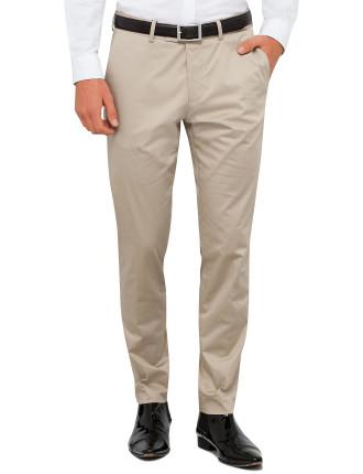 Cotton/Elast Sateen Trouser