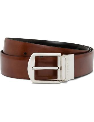 Leather Reversible Dress Belt