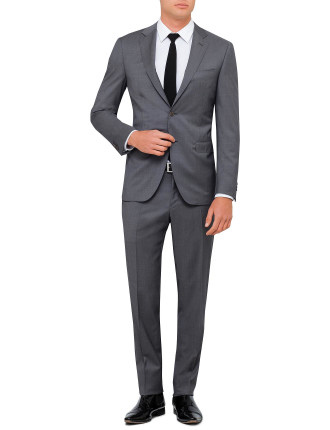 Wool Twill Salerno Plain Suit