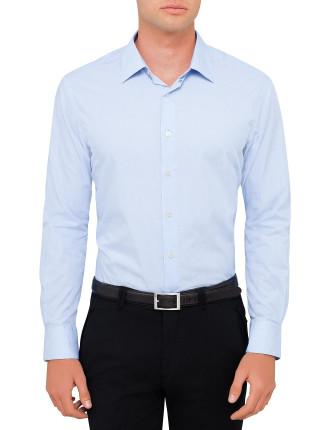L/S Cotton Fine Stripe S/Cuff