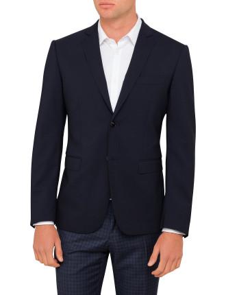 Wool/Elast Core Plain Jacket