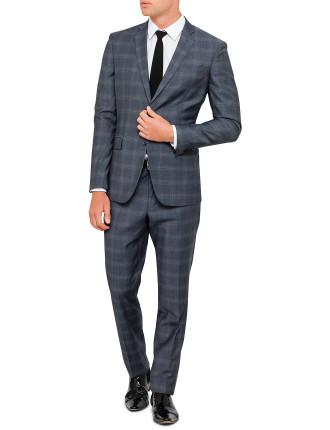 2b Sb Cv Fl Fr Wool Pow Check Suit