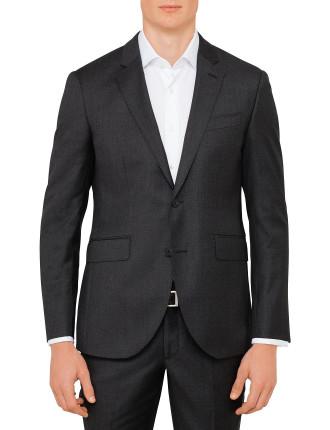 Wool Sharkskin Core Jacket