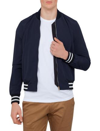 Unline Band Zip Bomber Jacket