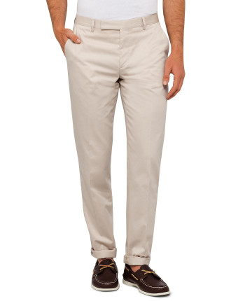 Cotton Twill Plain Trouser