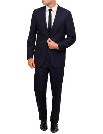 Wool Herringbone Suit