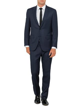 Wool Birdseye Suit