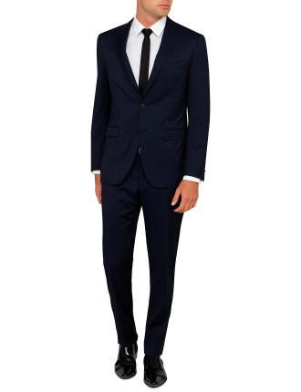 Wool Saille Plain Suit
