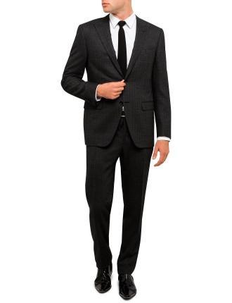 Diagonal Stripe Peak Suit
