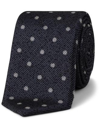 Silk  Spot Tie