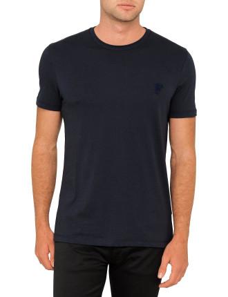 Cotton Jersey Basic Logo T Shirt