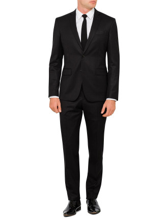 Wool Plain Suit