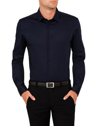 Poplin Plain Single Cuff Shirt