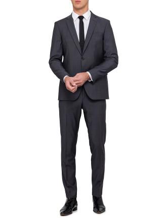 Wool/Moh Plain  Suit