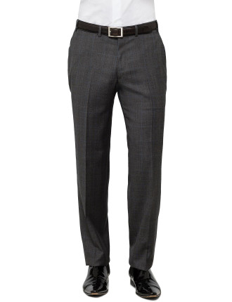 Wool  Pow Check Trouser