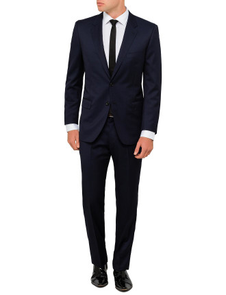 Wool Tonal Stripe Suit