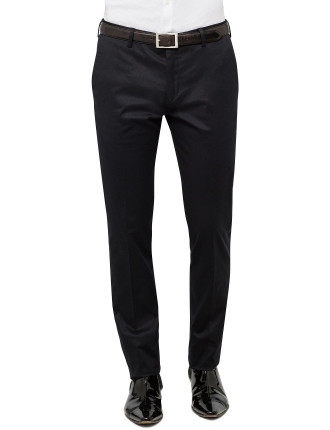 Flat Front Twill Trouser