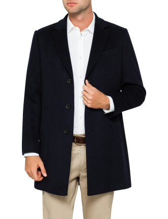 WOOL & CASHMERE OVERCOAT
