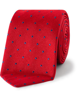 Silk Spotted Tie