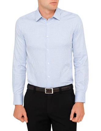 Jacquard Dobby Neat Single Cuff Shirt