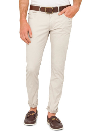 Twill Five Pocket Jean