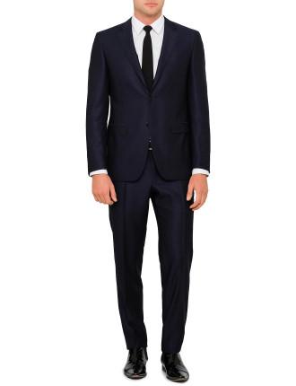 Wool Plain Suit