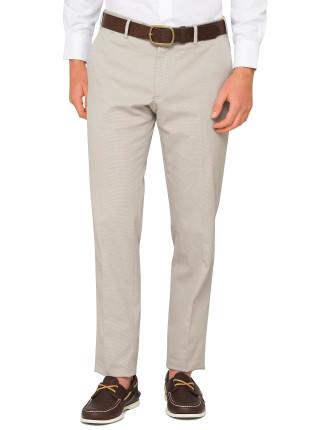 Textured Plain Trouser