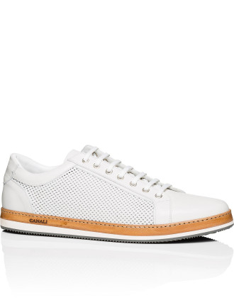 Perforated Lace Sneaker
