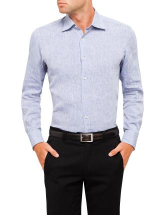 Slub Plain Shirt