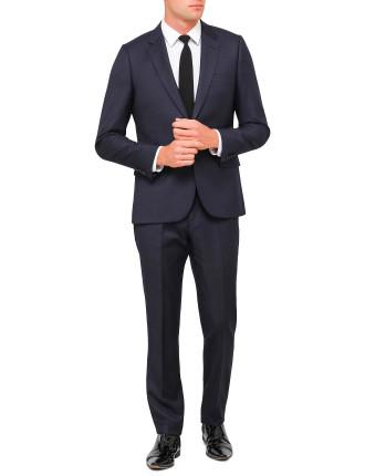 Wool Diagonal Pindot Suit