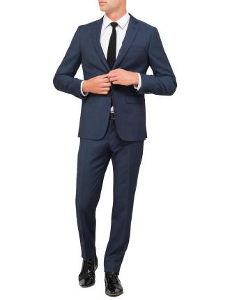 Wool Pindot Birdseye Suit
