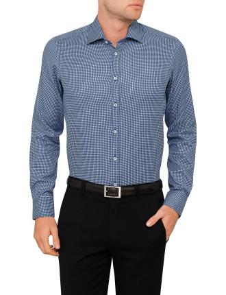 Jacquard Dobby Geometric Shirt