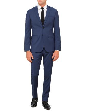 Textured Plain Suit