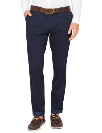 Textured Chino Trouser