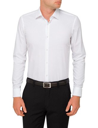 Plain Slim Single Cuff Shirt
