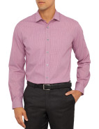 Micro Gingham Single Cuff Shirt $143.40