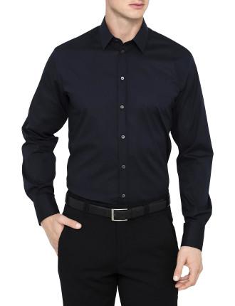 L/S Cotton/Elast Plain S/Cuff