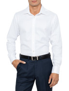 Herrinbone Business Shirt $129.50