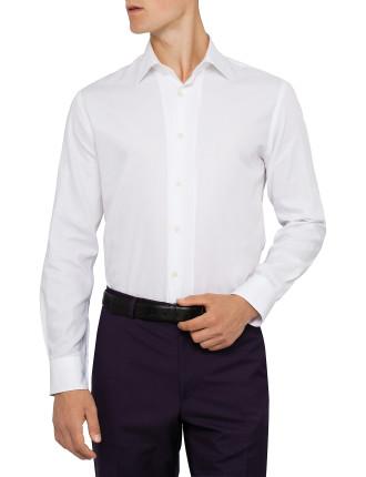 Poplin Plain Dress Shirt
