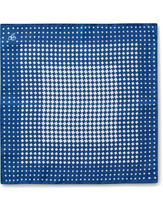 Silk Diamond Print Pochette