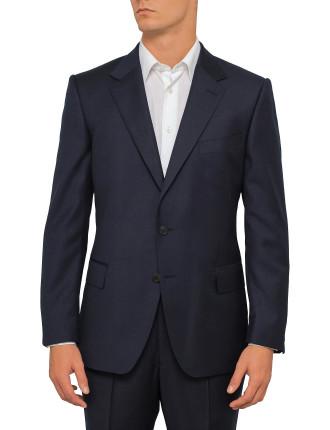 Wool Serge Plain Jacket